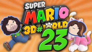 Super Mario 3D World: Goomba Ninjas - PART 23 - Game Grumps