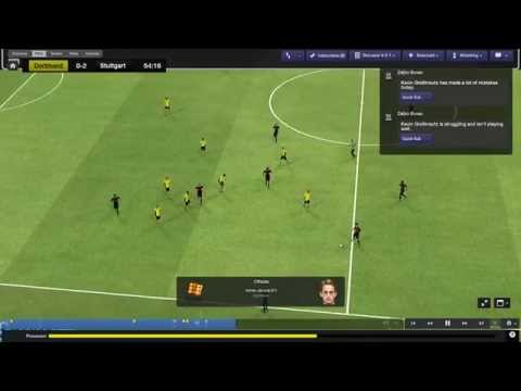 Football Manager 2014 Let's Play - Borussia Dortmund #21 | Poor Form... | 3D Gameplay