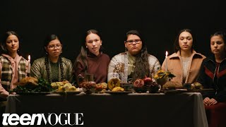 Native American Girls Describe the REAL History Behind Thanksgiving | Teen Vogue