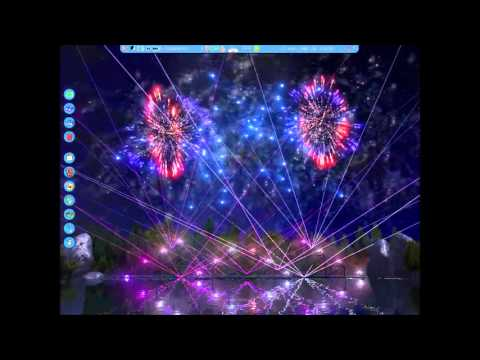Royal Firework - RCT3 Fireworks Show - B*%# Better Have My Money - Rihanna