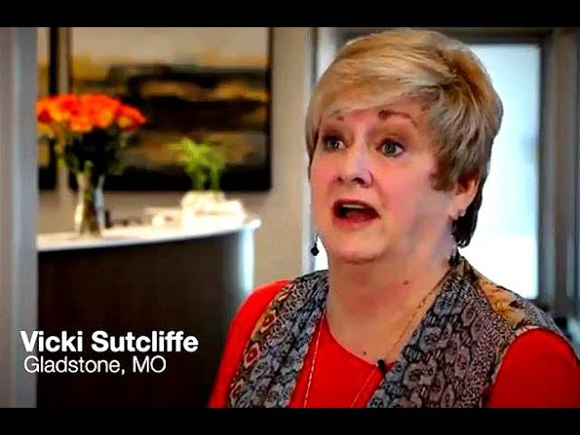 """I was crippled before and I'm not now."" - Vicki Sutcliffe, Kansas City, MO"