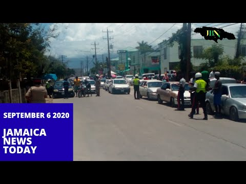 Jamaica News Today September 6 2020/JBNN