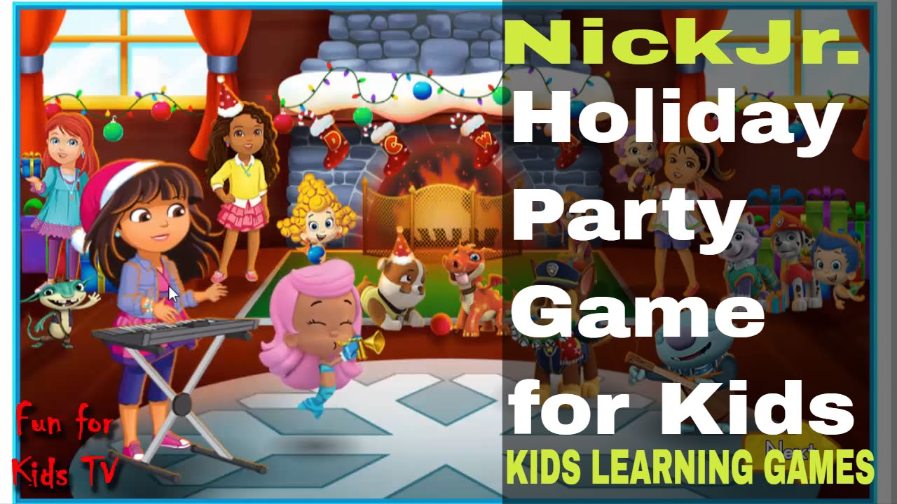 Nick Jr Games Online - Holiday Party Game fo Kids - Nick Jr Holiday ...