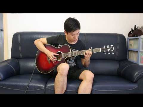 (Adele) Rolling in the deep- CCCheung fingerstyle guitar