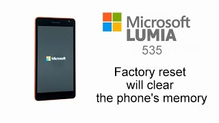 Nokia Lumia Hard Reset 535, 430, 435, 532, 540, 550, 640, 950, 1030 - Factory Reset Window Phone