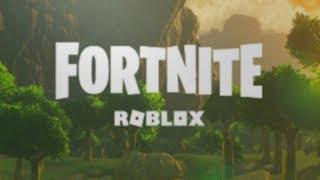 ROBLOX FORTNITE SHORT GAMEPLAY! [Island Royale]