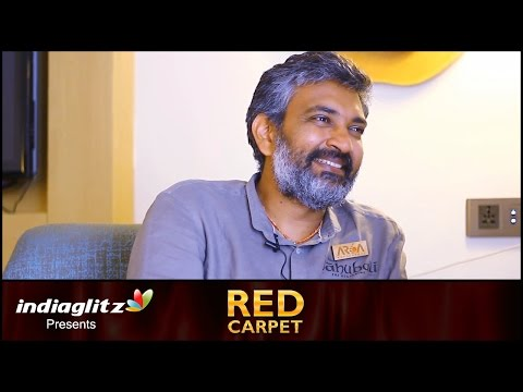 Thumbnail: SS Rajamouli Interview : I'm an okay Film-Maker but a very good Storyteller | Red Carpet by Sreedhar