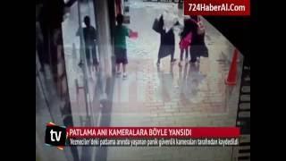 Son Dakika: İstanbul Vezneciler'deki Patlama Anı Kameralarda