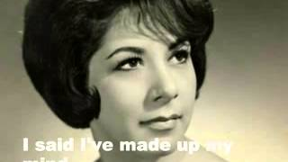 Watch Timi Yuro I Cant Stop Loving You video