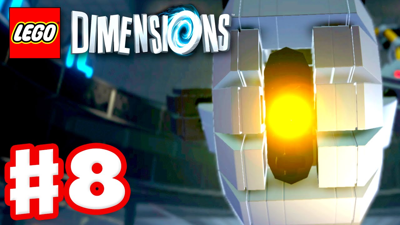 lego dimensions walkthrough part 8 - lego back to the future