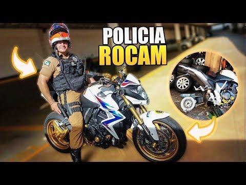 MEU AMIGO POLICIAL DERRUBOU MINHA CB1000 😭 ‹ Bruno Garcia ›