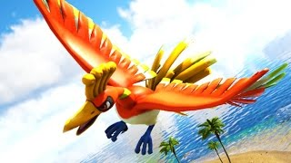 THE LEGENDARY BIRD HO-OH! (ARK POKEMON)