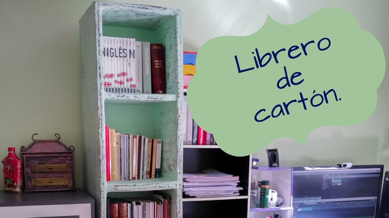 Estantes Para Libros Con Material Reciclado.Bookseller S Very Sturdy Cardboard Ideas To Organize Your Books