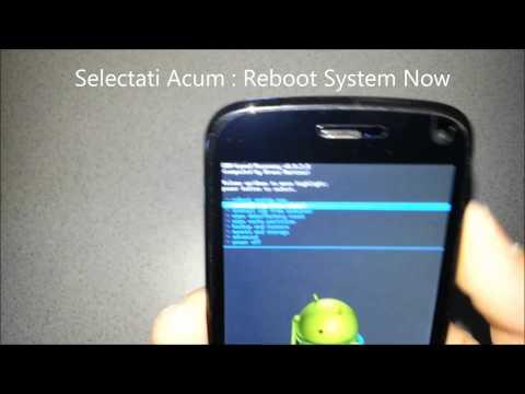Hard Reset Revenire La Setari Din Fabrica Pe Android - Tutorial Androidro.ro