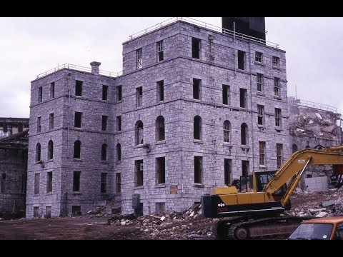 THE DEMOLITION OF GREENBANK HOSPITAL, PLYMOUTH - 16th December 1996 (SLIDE SHOW)