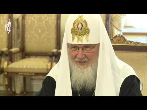 Патриарх Кирилл встретился с Верховным Патриархом и Католикосом всех армян Гарегином II