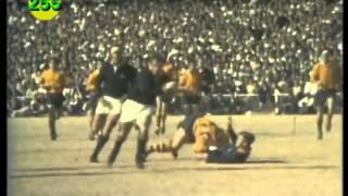 Springbok Try Nr: 255 - Mannetjies Roux (1969 - Australia, 1st Test, Ellis Park)