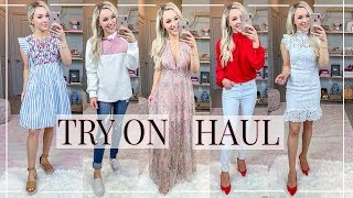 TRY-ON HAUL + UNBOXING | RED DRESS BOUTIQUE | Shannon Sullivan