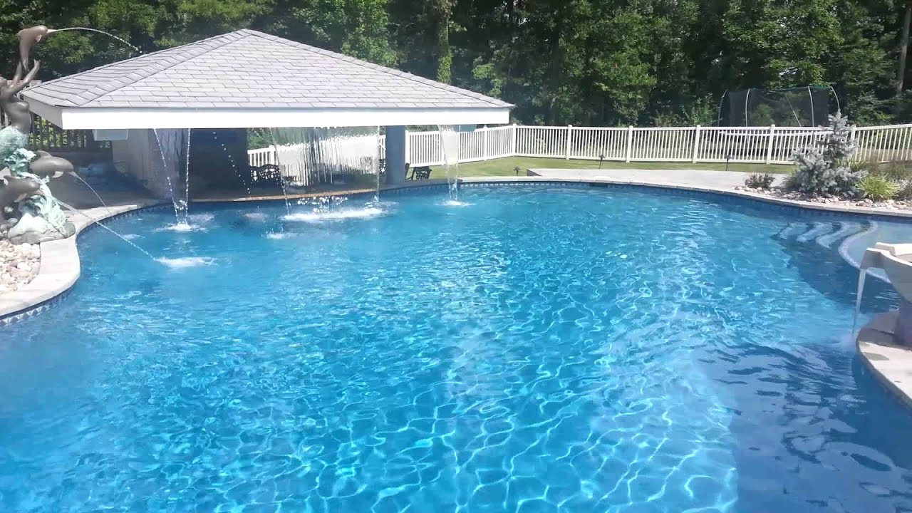 Precision Pools Swim Up Bar Pool Youtube