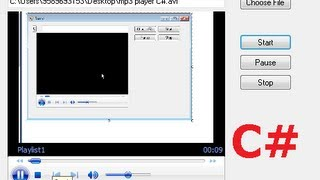C# Tutorial 37: How to add a (Windows Media Player) Video clip to the form