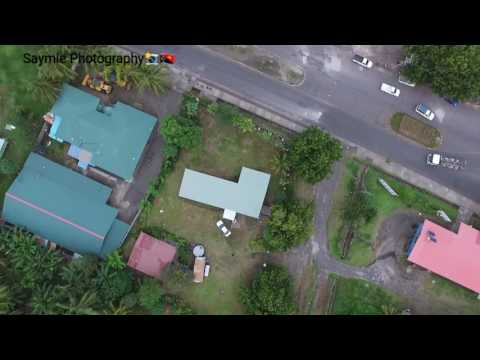 Rabaul Town from the Sky