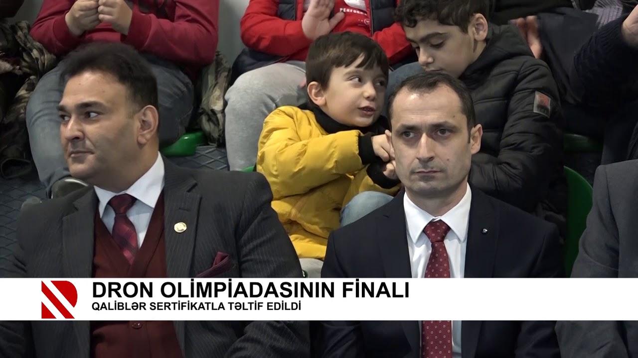 DRON OLİMPİADASININ FİNALI - QALİBLƏR SERTİFİKATLA TƏLTİF EDİLDİ