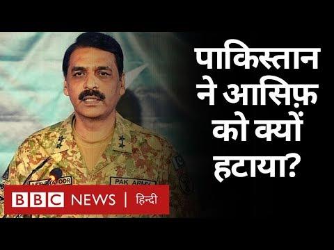 Pakistan ने Major General Asif Ghafoor को क्यों हटाया? (BBC Hindi)