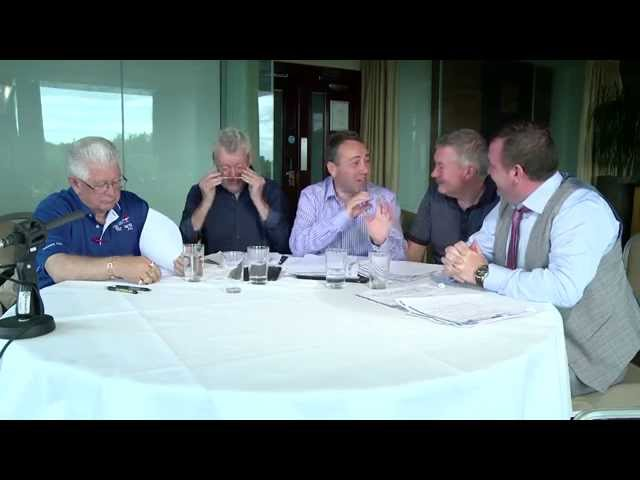Exclusive Pre-race discussion of the Vincent Delaney memorial cup 2015.