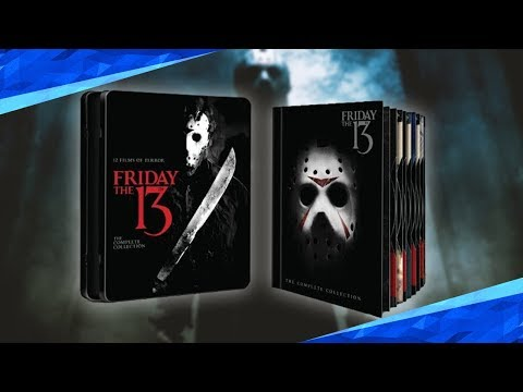 Limitierte Freitag der 13. Blu Ray Box | DeeMon