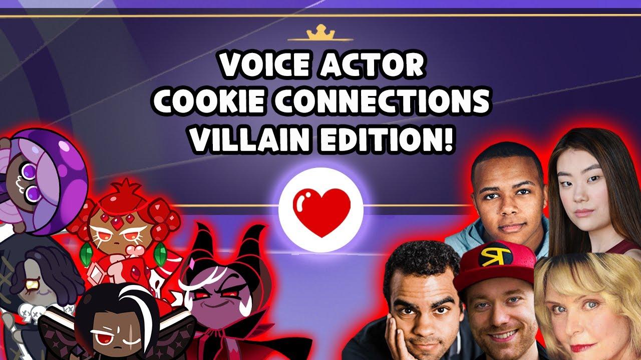 Cookie Connections: Meet Your Main Villains! 😈