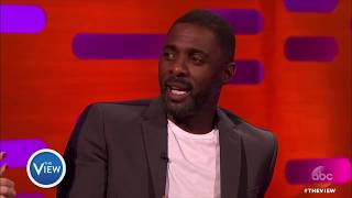 idris elba on foot fetish? the view