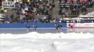 日時:2013年1月30日 会場:郡山スケート場 種目:スケート競技会 スピ...