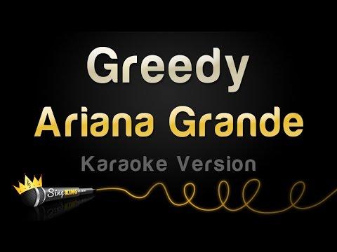 Ariana Grande - Greedy (Karaoke Version)