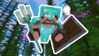 DESTROYING The OCEAN MONUMENT In Minecraft Hardcore!!