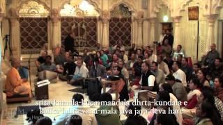 HH Bhakti Rasamrita Swami Bhajans - Hare Krishna Melbourne 2013