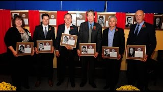 Northwestern Ontario Sports Hall of Fame 34th Annual Induction, Sept 2015