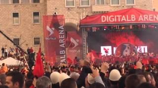 Video Festa e Shqiperise per kualifikimin ne Euro 2016 download MP3, 3GP, MP4, WEBM, AVI, FLV November 2018