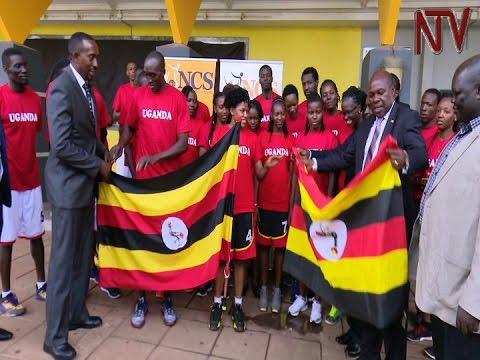 Uganda team sets off for FIBA AfroBasket championship in Egypt