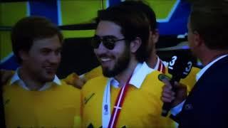 Mika Zibanejad imiterar Zlatan