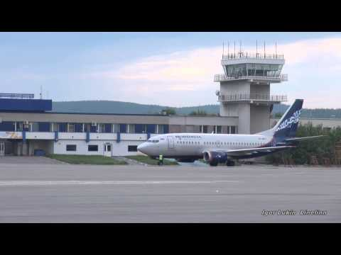 Мурманск. Споттинг в аэропорту/Murmansk. Spotting the airport