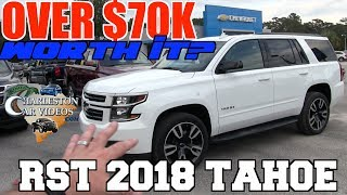 OVER $70-80K NEW 2018 CHEVROLET TAHOE Premier RST - IS IT REALLY WORTH IT?????? AUTO VLOG