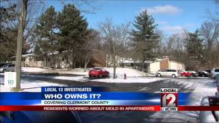 Clermont County Residents Worried About Mold In Apartments