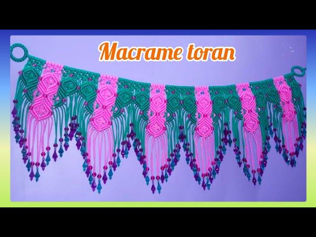 Macrame Toran (Design -1)
