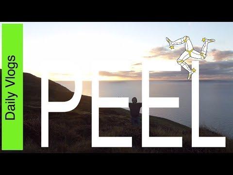 Vlog_004 - Douglas + Peel Timelapse including the Sunset - Isle of Man