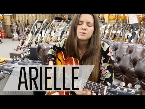 Arielle Playing A 1960 Gibson ES-125TDC At Norman's Rare Guitars