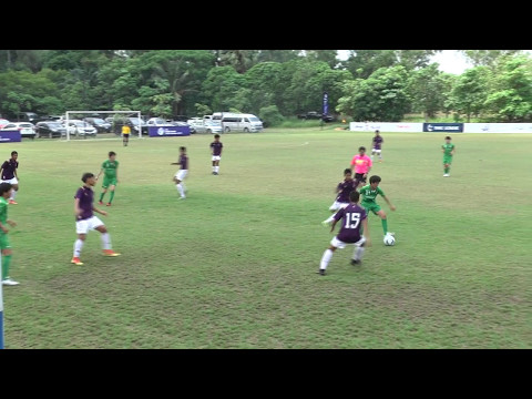 U-14 ADFT 2016/17 Match Bangkok Christian College VS TOKYO Verdy