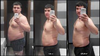 Похудеть не сложно! Похудел на 15 кг за 6 недель! Трансформация online.
