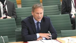 Transport Select Committee | Grant Shapps | 24 September 2021 | Insulate Britain