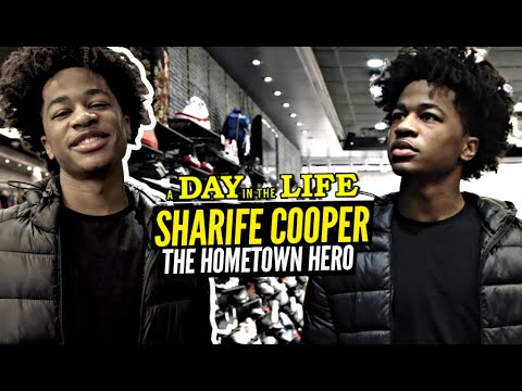 Sharife Cooper Is A Hometown Hero! Day In The Life w/ The #1 PG Back Home in New Jersey!