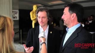 Bill Corso & Dennis Liddiard #Foxcatcher at Oscar Week Makeup & Hairstyling Symposium Event #Oscars